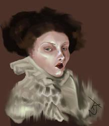 Portrait Study. Digital Painting