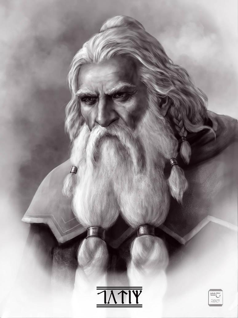 Thorin Oakenshield by meneldil-elda
