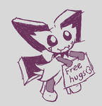 Free hugs from pichy