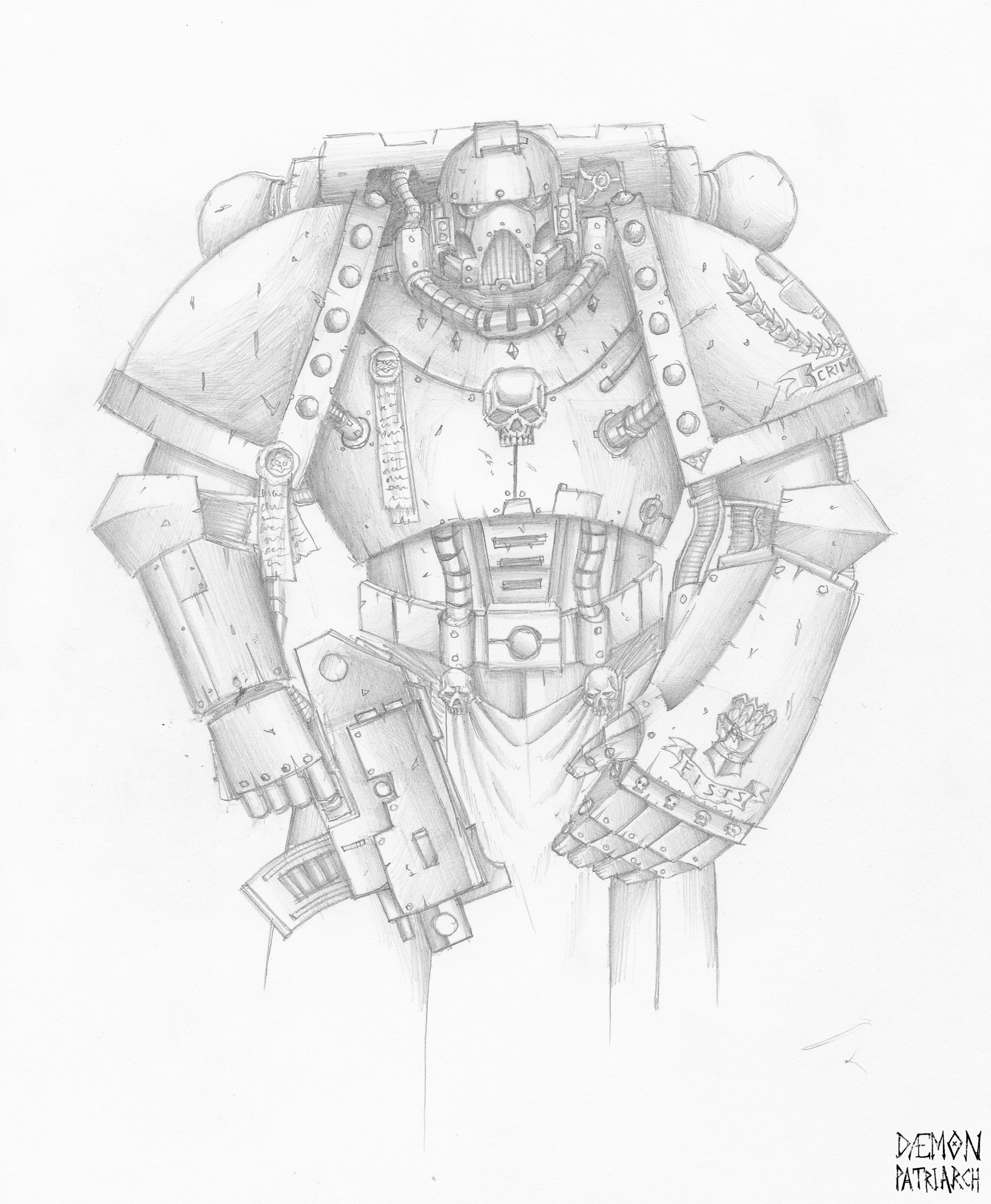 Adeptus Astartes by OEVRLORD