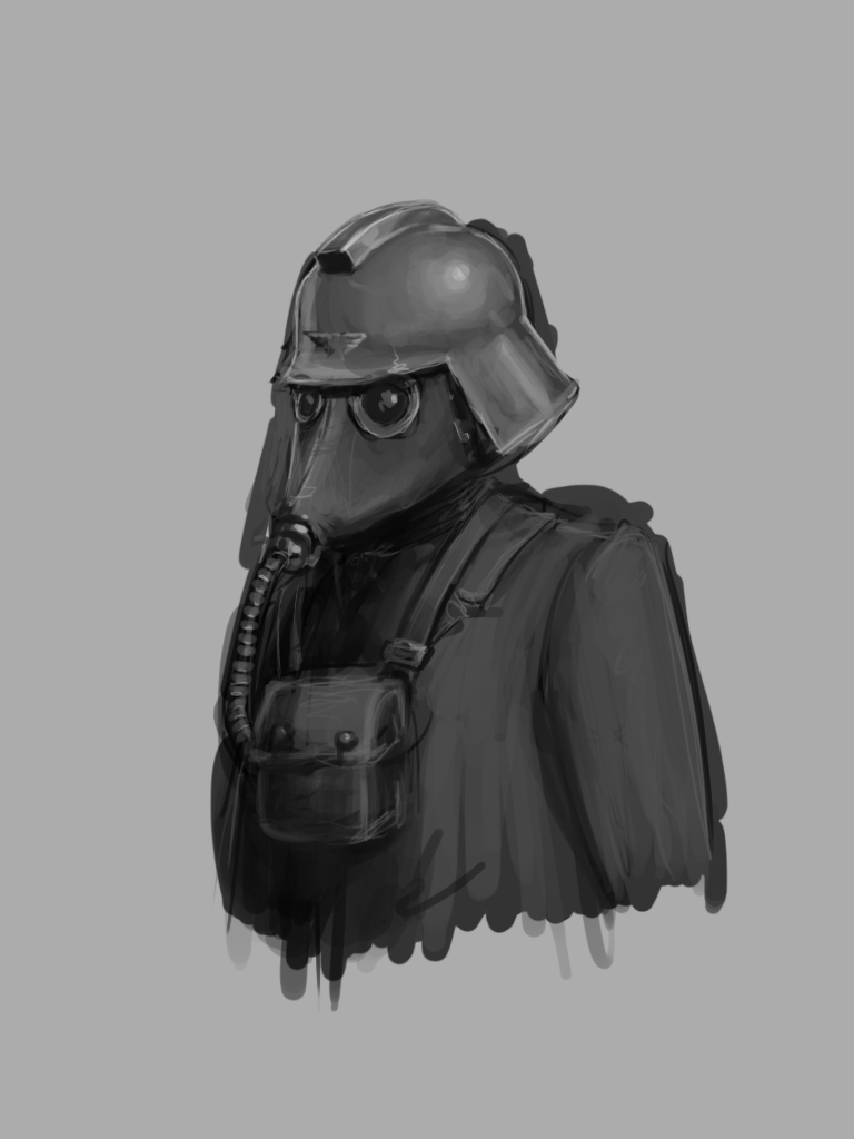 Death Korps Speedpaint by OEVRLORD