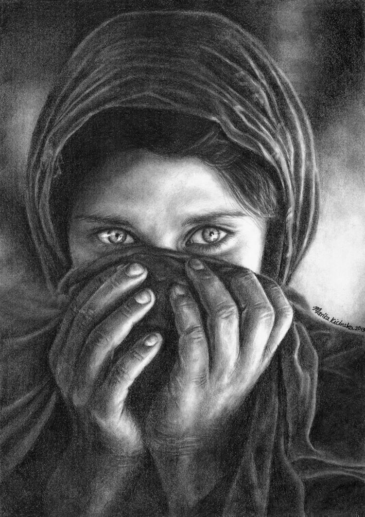 the afghan girl. by marika-k