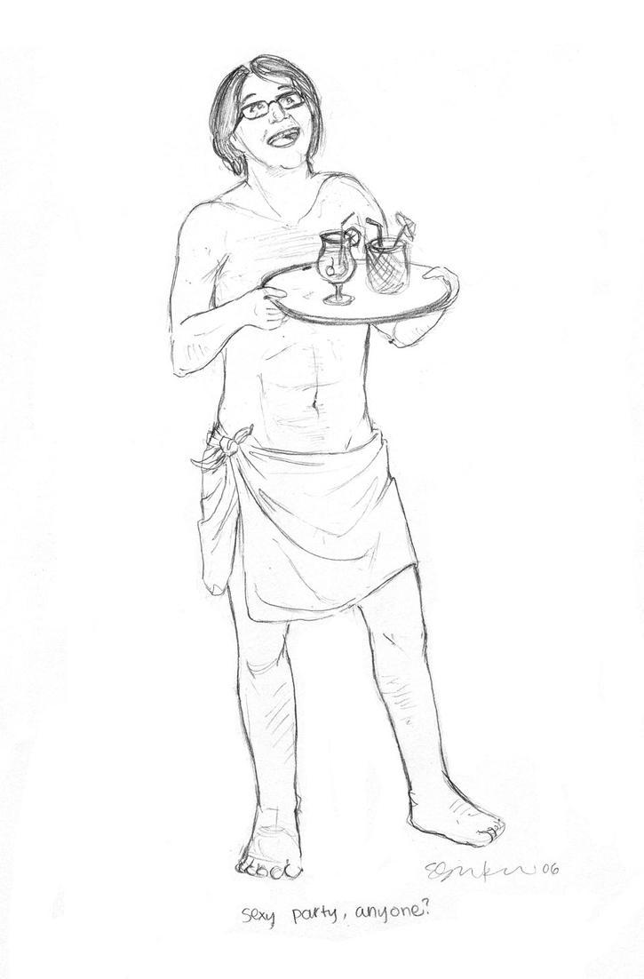 Cabana boy Guillermo by devillama