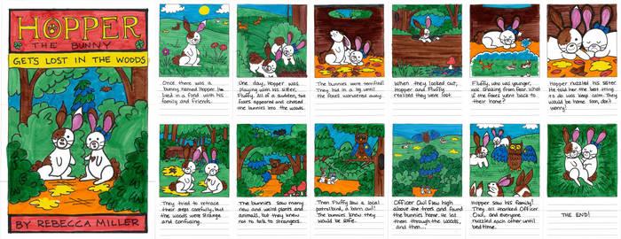 Colored Bunny Book