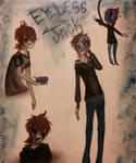 Eyeless Jack doodles