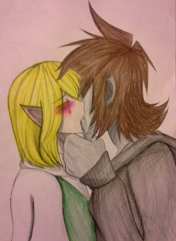 Hot Kiss by HellishProxy