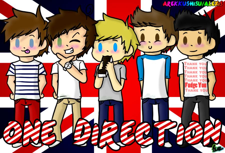 One Direction by Arekkushisu348