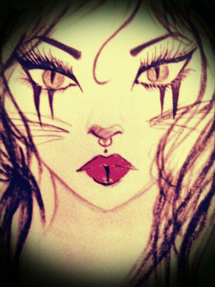 Cat eyes by ReginaSheraSmith