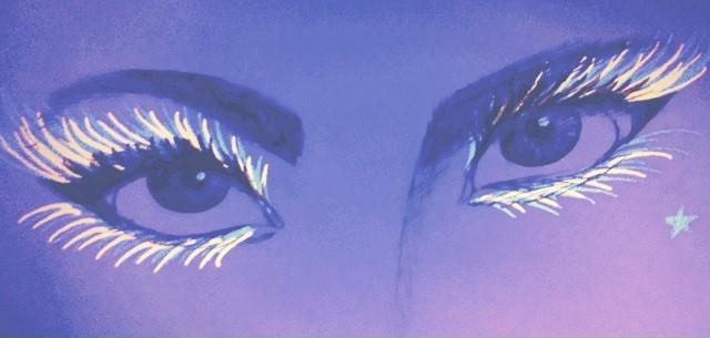Ultraviolet eyes by ReginaSheraSmith