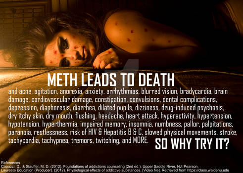 Meth leads to death