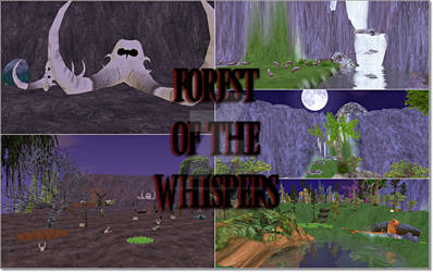 FH MAP || Forest Of The Whispers by BlackSheWolf666