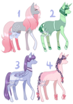 Pony Adopts [ 4/4 OPEN ] by OstrichAdopts