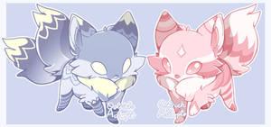 Fox Adopts Raffle! [ CLOSED ] by OstrichAdopts
