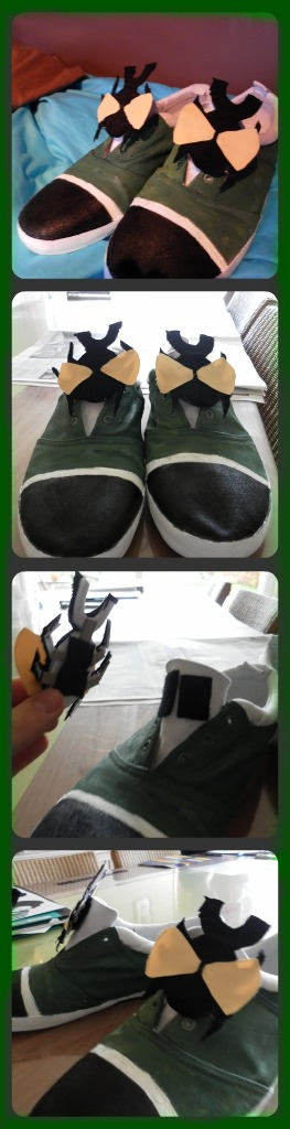 Shoes With Attachable Heels Fb