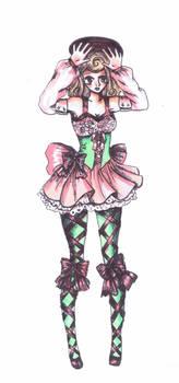 Fashion Sketch Magical Marionne
