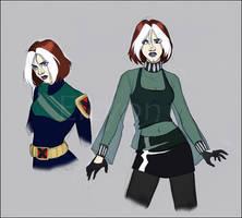 X-Men:Evolution - Rogue by IreneMartini