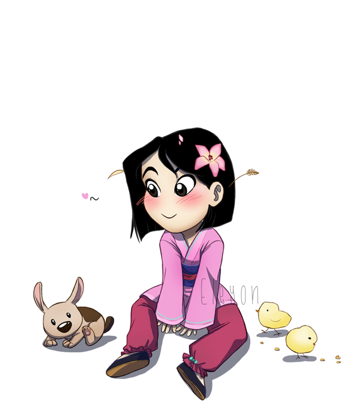 Baby Disney - Mulan by IreneMartini