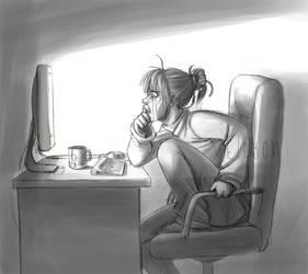 Emotional nerd by IreneMartini