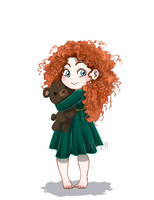 Baby Disney - Merida by IreneMartini