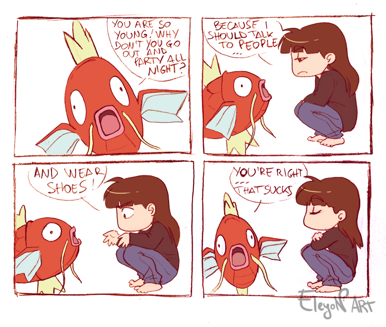 Magikarp Approves by IreneMartini