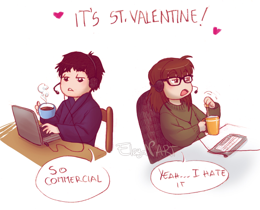 So it's St.Valentine? by IreneMartini