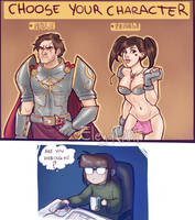 Girls and Videogames
