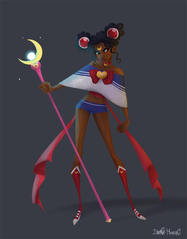 Sailor Moon challenge by IreneMartini