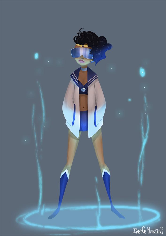 Sailor Moon challenge 3 by IreneMartini