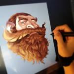 Growing a beard