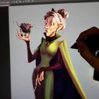McGonagall in progress by IreneMartini