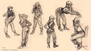 Life drawings by IreneMartini