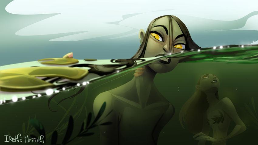 Mermay - In the pond