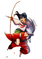 Inuyasha, watch out!