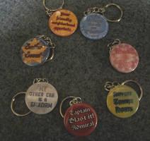 2014 Holiday keychains