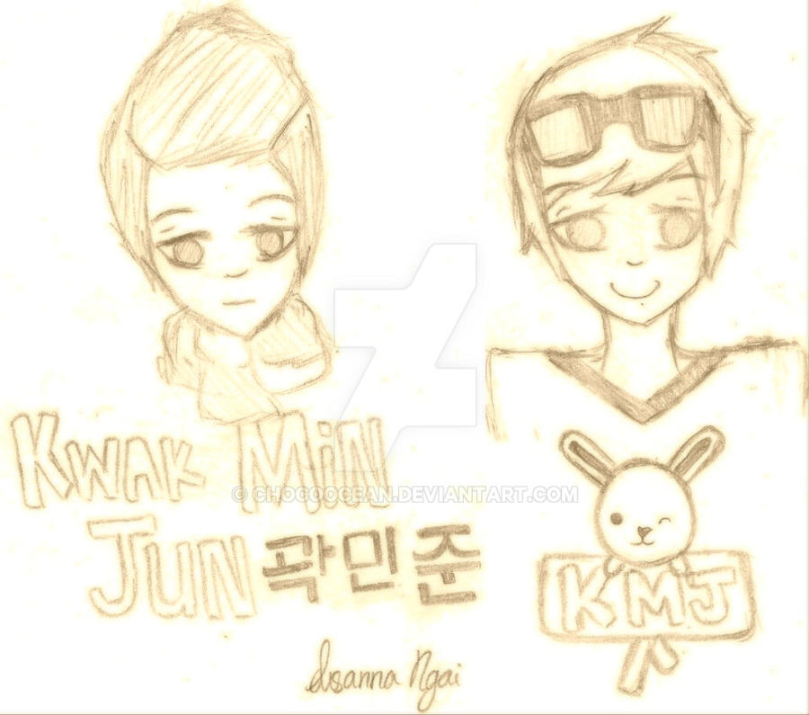 Kwak Min Jun by ChocoOcean