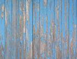 Blue Plank Wall