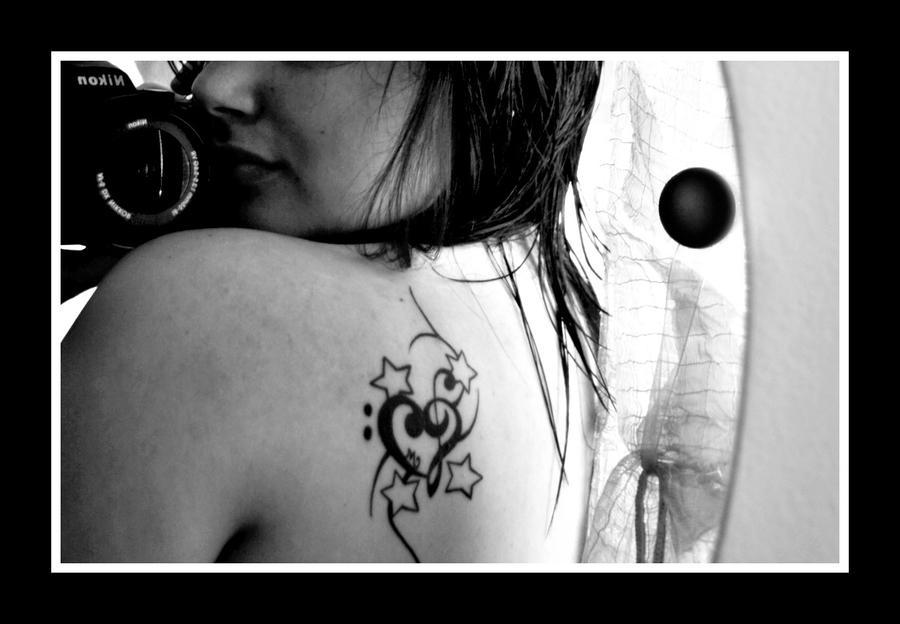 Tattoo is L O V E