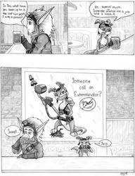 Jak and Daxter-- Daxter's job by cherrypie7