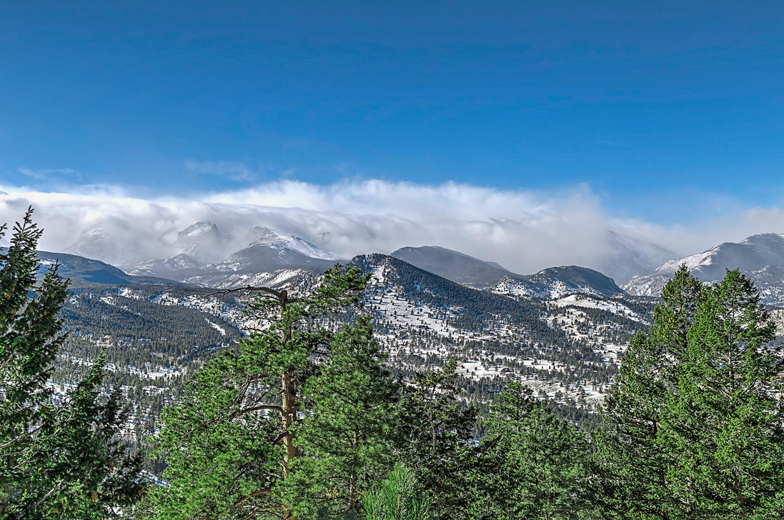 Winter in the Estes 02 by A1k3misT