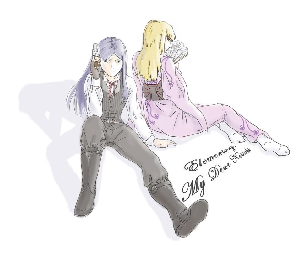 EDMN: Shizlock and Watsuki by yuiseppe
