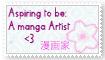 Mangaka Stamp by AyixNovalee