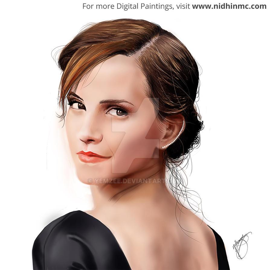 Emma Watson by yemzee