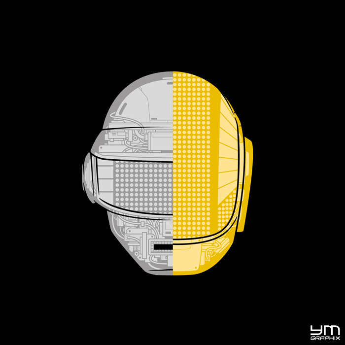 Daft Punk by ym-graphix