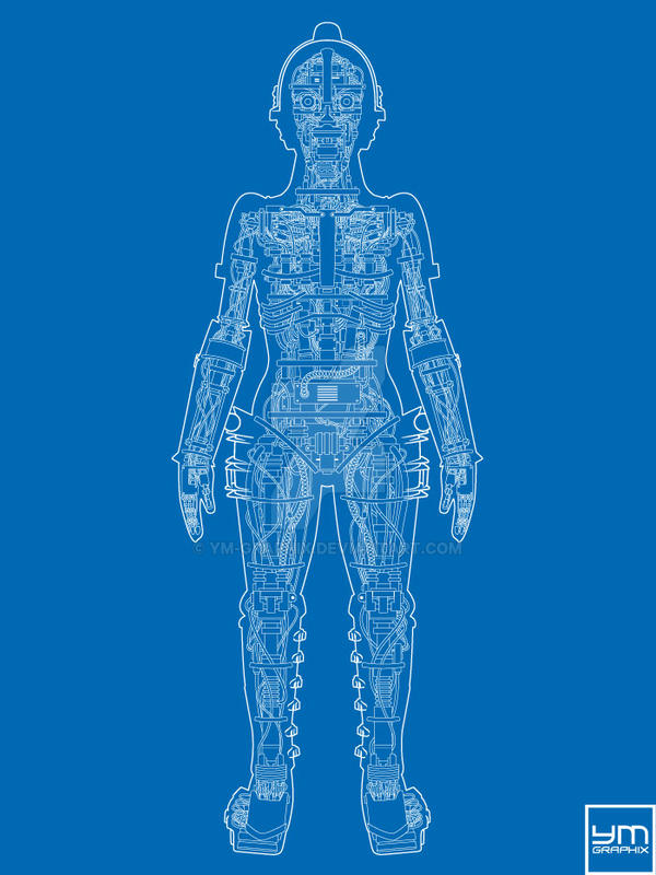 Metropolis Robot Anatomy (Blueprint) by ym-graphix