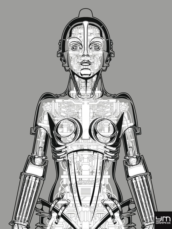 Metropolis Robot Anatomy by ym-graphix