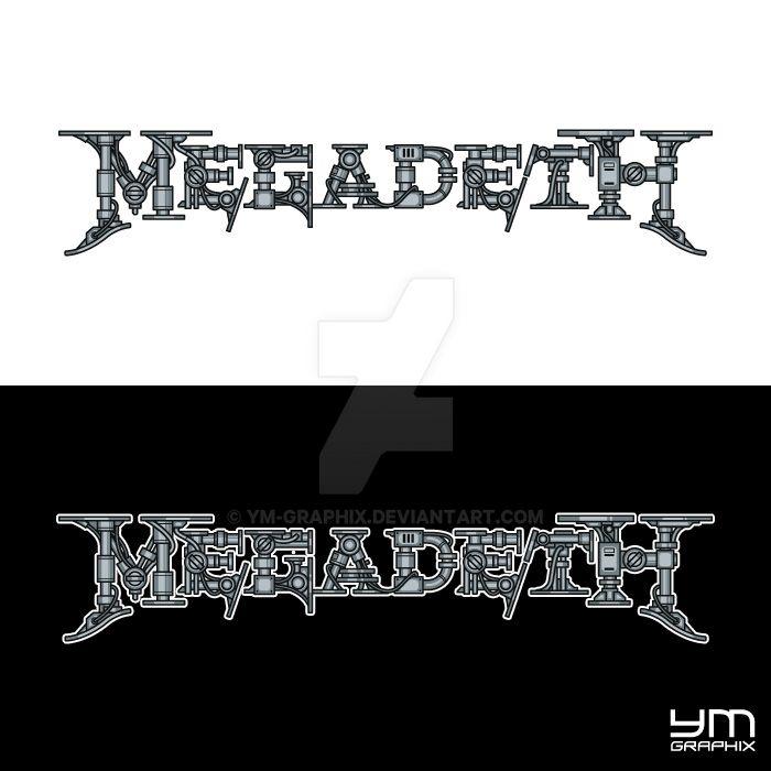 Megadeth Logo by ym-graphix