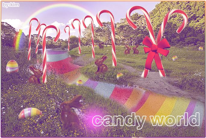 candy world by o0Kimi0o on DeviantArt