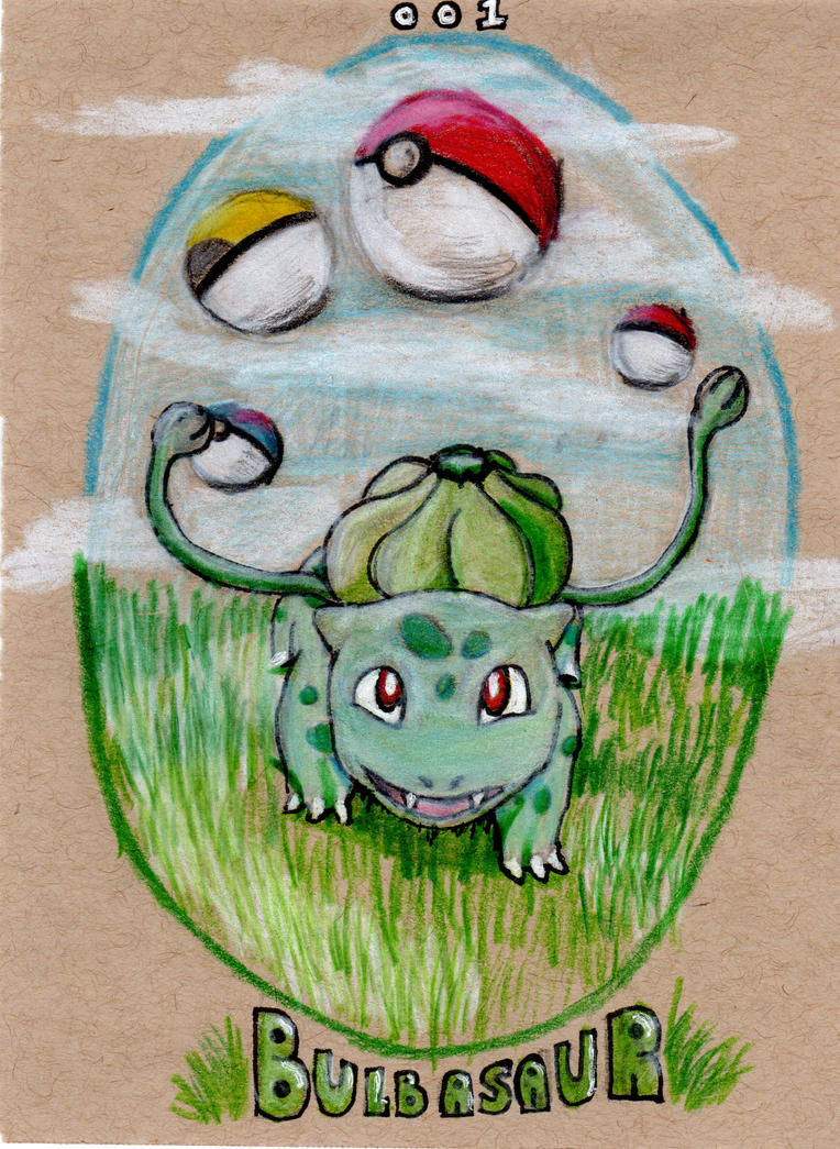 001 Bulbasaur by Timmytushoes