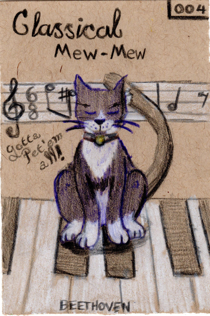 Art366 032 Classical MewMew by Timmytushoes