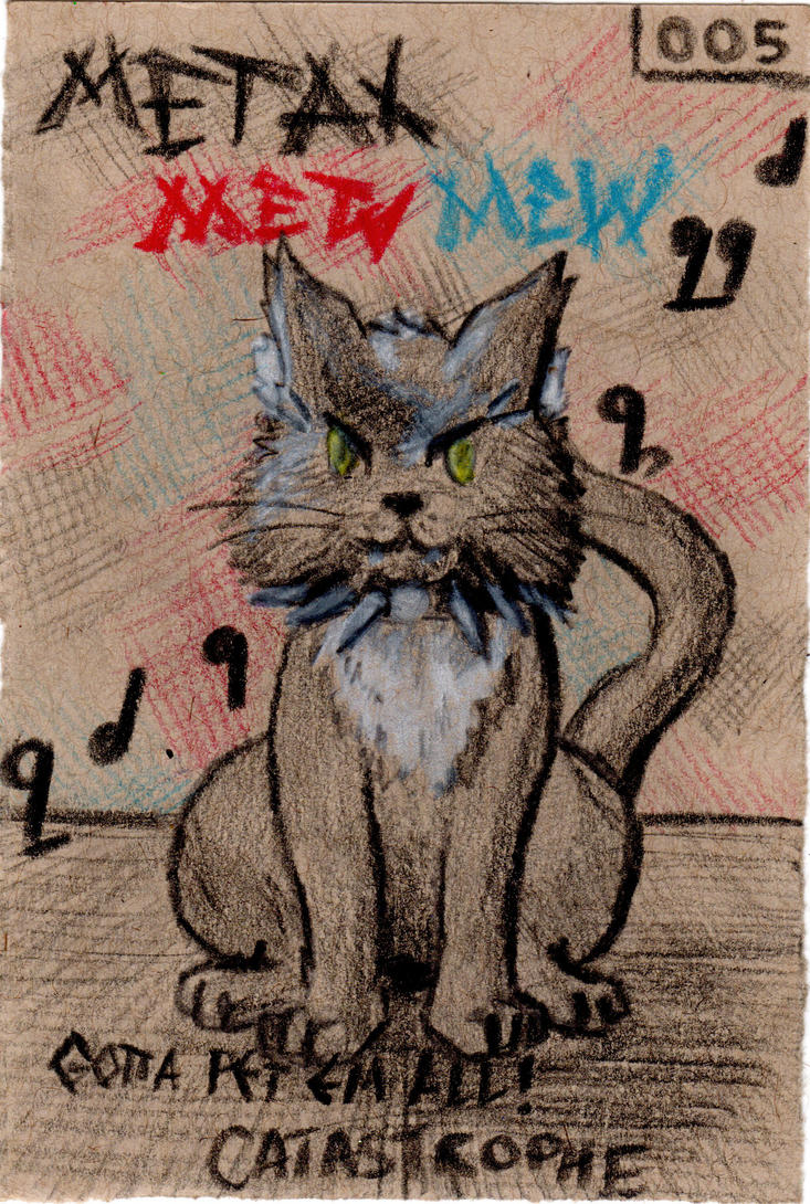 Art366 033 Metal MewMew by Timmytushoes